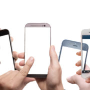 複数のスマートフォン